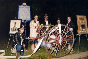 1871 Hand Cart at Spirit Night